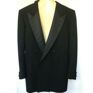 Mani Giorgio Armani Black Tuxedo Blazer Jacket 44R